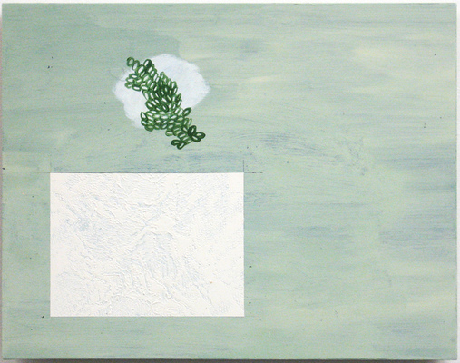 Anne Gilman Points of Error acrylic paint and gesso on wood