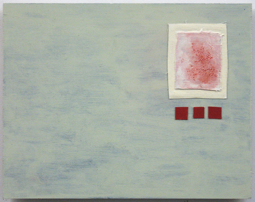 Anne Gilman Points of Error acrylic and gesso on wood and canvas