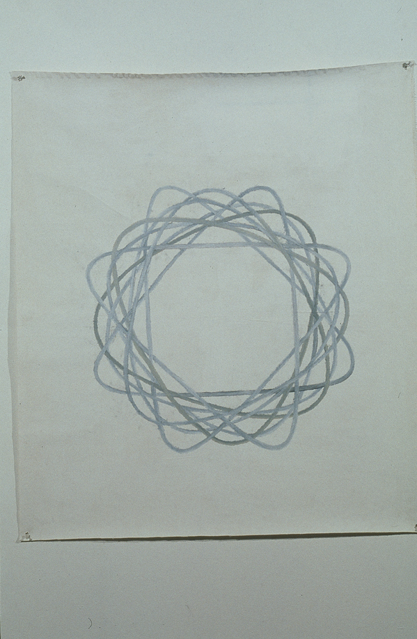 Archived Drawings (1993-2004) Flower #1 (Spirograph drawing)