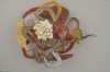 Jewelry (Metals) Enameled copper, chased fine silver, pine, steel, graphite
