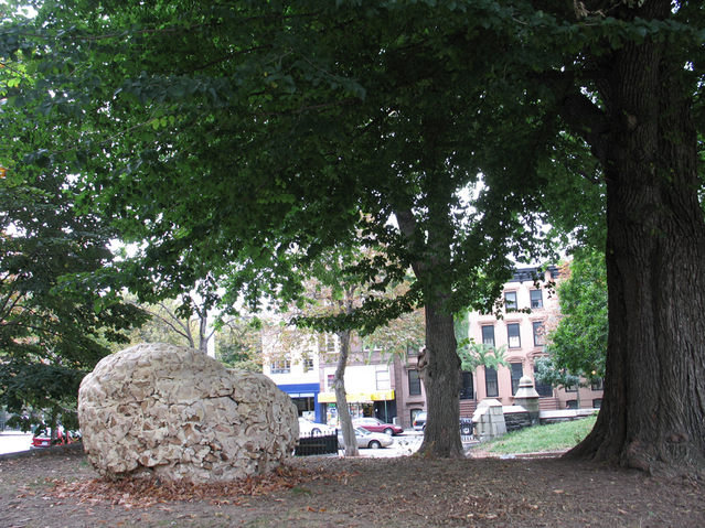 Anne Peabody Fallen Nest, 2007 : Fort Greene Park, Brooklyn, New York