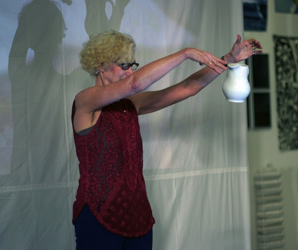 "Anne Sherwood Pundyk:  Painting as Theatre of Agency ""Sacred Nipples"" Video Screening, The Last Brucennial, March 2014"