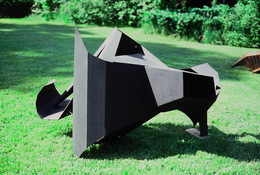 ANNE SEELBACH 1989-1991 Mechanical Animals welded steel