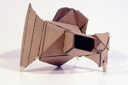 ANNE SEELBACH 1989-1991 Mechanical Animals corrugated cardboard and masking tape