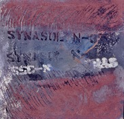 ANNE SEELBACH 1988-1990 Jersey City Relics oil, powder pigment on masonite
