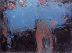 ANNE SEELBACH 1986-1987 The Hunebedden oil on canvas
