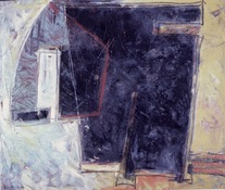 ANNE SEELBACH 1982-1985 House, Enclosure oil on canvas