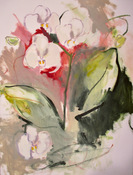 ANNE SEELBACH Flowers and Gardens acrylic on paper