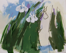 ANNE SEELBACH Flowers and Gardens acrylic on Montval paper