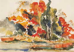 ANNE SEELBACH Watercolors watercolor on paper