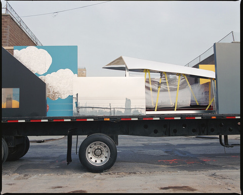 Project: Transmotion mixed medium on 18-wheeler flatbed