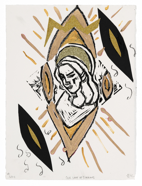 Ave Maria  Variable Edition Print 3/14