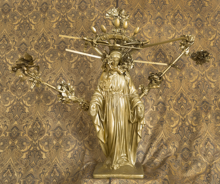 Visitations  Detail of Mary, Queen of Heaven and Earth