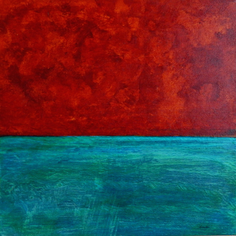 Annie Nash COLOR FIELD PAINTINGS acrylic on canvas