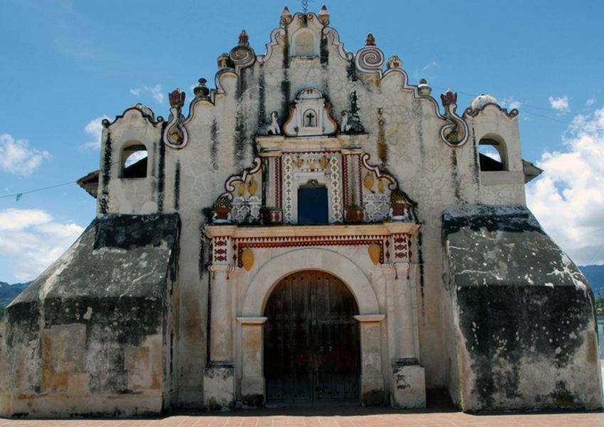 Architecture Church of San Jacinto in Salcajá