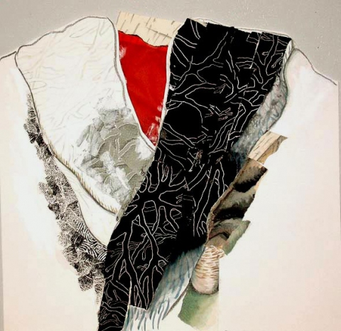 "ANN STODDARD ""Robe"" series collage"