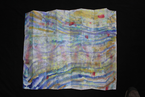 ANNie STODDARD  Water Maps Ink, watercolor on rice paper