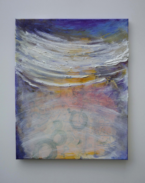 ANN STODDARD ORBIT Series Oil on stretched canvas