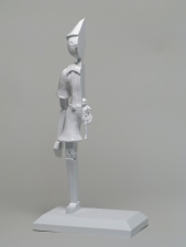 A N T H O N Y   C E R V I N O PINOCCHIO (2008) cast, assembled and painted plastic