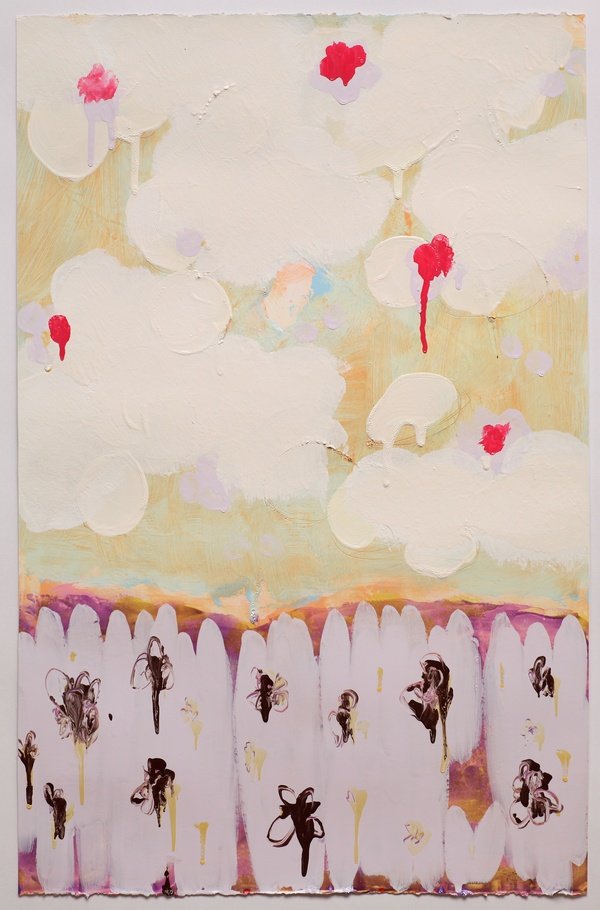 Anya Spielman Works on Paper Oil on Paper