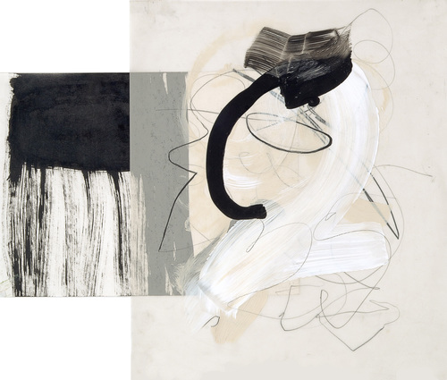 A p r i l   H a n k i n s    Layers Series Acrylic, sumi ink, pencil on vellum and paper
