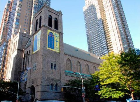 April Tracey Exhibition News Church of St. Paul the Apostle, NYC