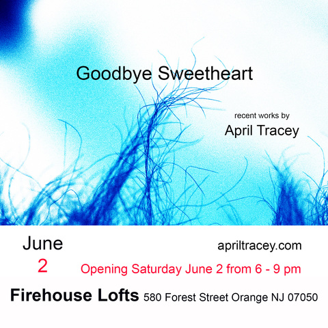 April Tracey Exhibition News