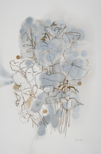 arienne lepretre Bloom Sumi Ink, Ink on paper