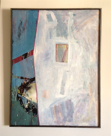 ART FOR FILM - great cleared art rental for film, television and commercials Robert Petrick (PETROB) acrylic on canvas