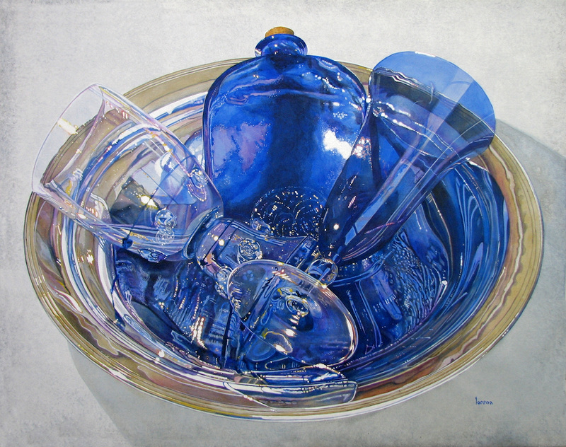 Available Art Sapphire Blue