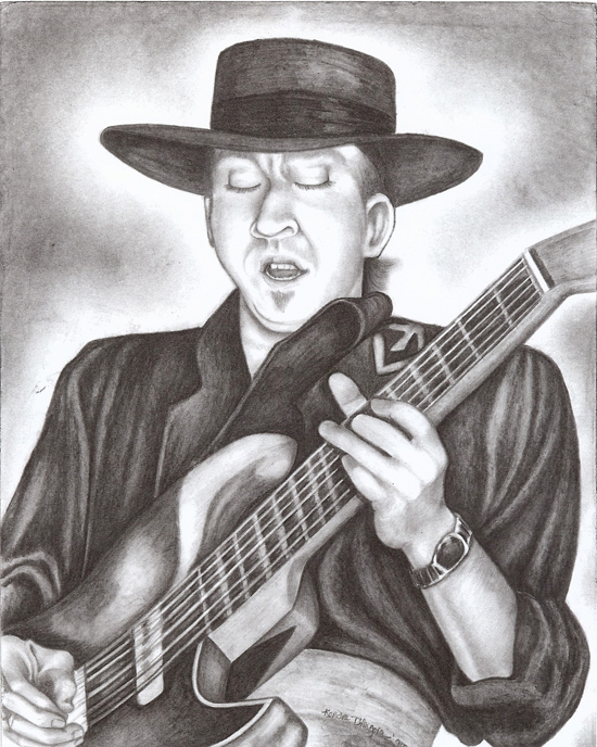 D R A W I N G S Stevie Ray Vaughan