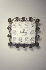ASHLEY V. BLALOCK UNCATEGORIZED SCULPTURE, 2006 to Pres. Zantac packaging, thread