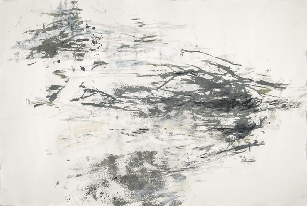 Aspasia Anos Works on Paper Paper lithograph Monotype