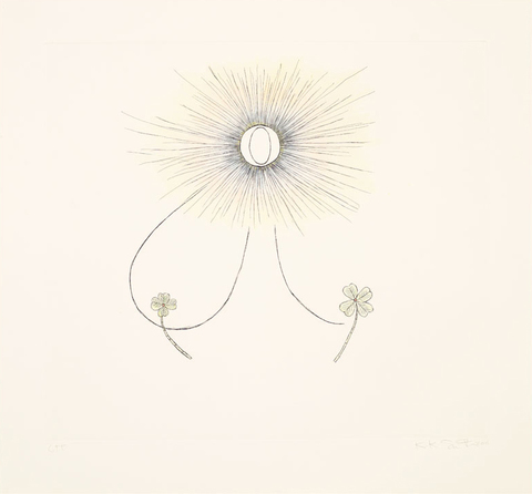 Aspinwall Editions Kiki Smith Etching with hand coloring