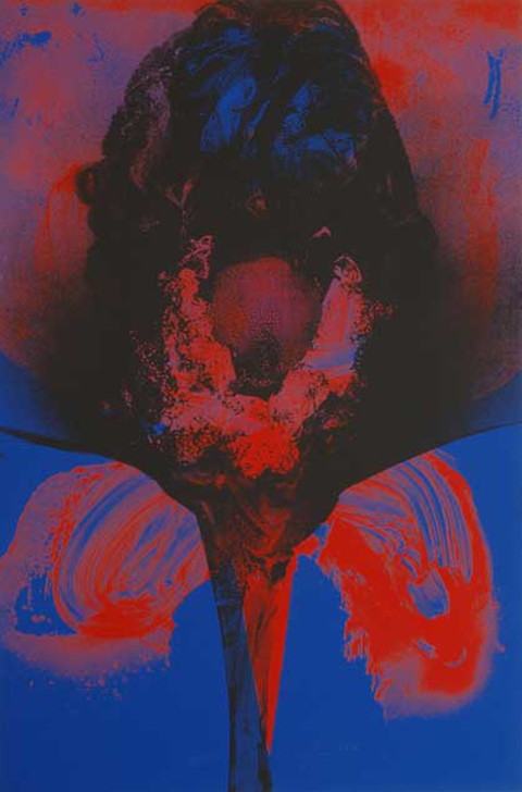 Aspinwall Editions Otto Piene Screenprint on cardboard