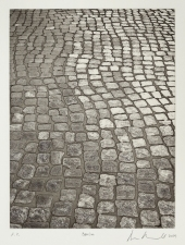 Aspinwall Editions Cobblestones Open bite etching and aquatint