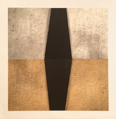 Aspinwall Editions Bill Hall Intaglio and collage