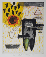 Aspinwall Editions Wolfgang Troschke Intaglio and lithograph