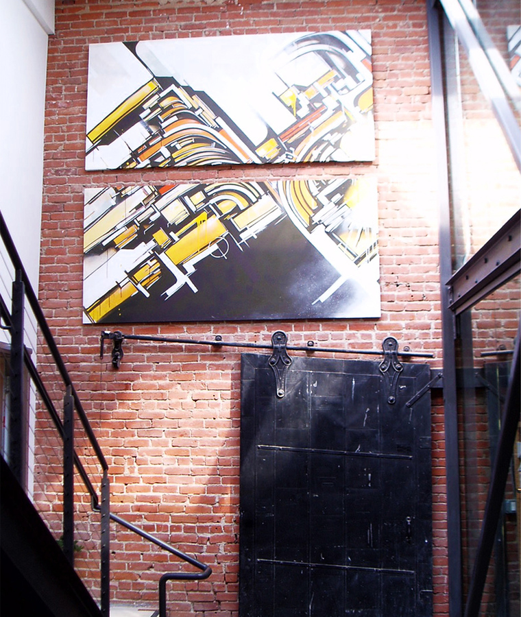 Paintings Beyond access, 2004