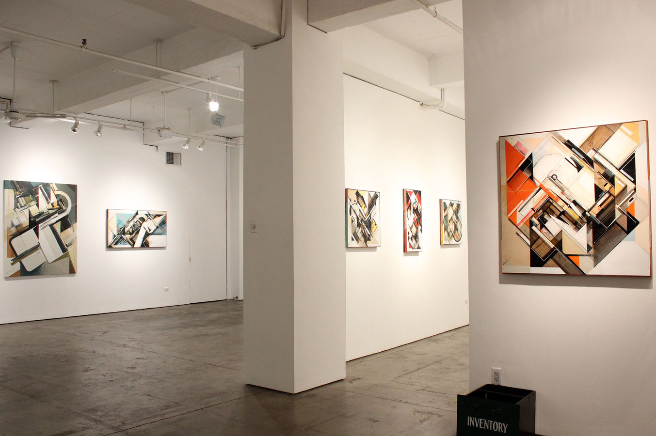 I N V E N T O R Y INVENTORY installation view