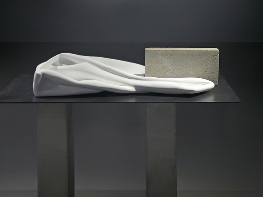 A. V. Ryan                      sculpture paper, plaster, joint compound, gesso, concrete, steel