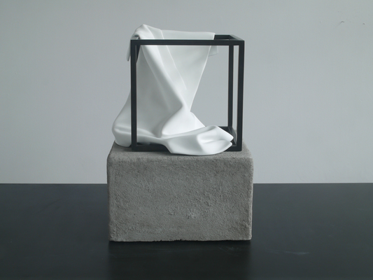 A. V. Ryan                      sculpture paper, latex, glue, steel, concrete
