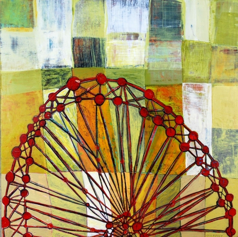 Ferris Wheel with Grid