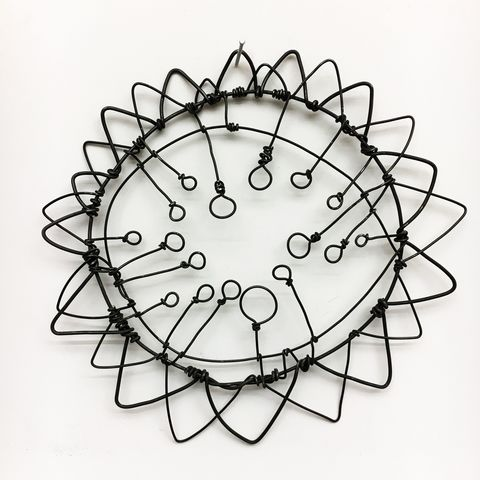 BARBARA GILHOOLY Wire Drawings annealed steel wire