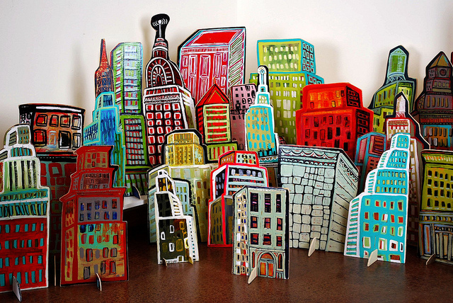 barbara gilhooly pop up cut outs pop up city
