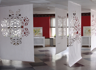Decorative Cutout Panel Installations