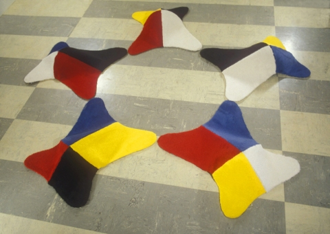 Barbara Gallucci Sculpture and Installation carpet
