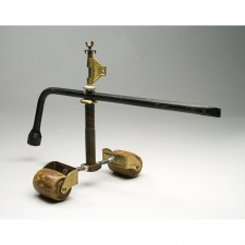 Barbara Lubliner Rattles welded metal, found objects