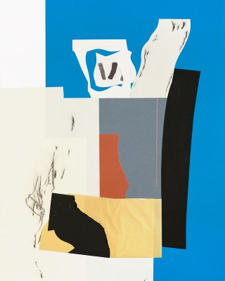 BART GULLEY Show: From Image to Object: Painting to Collage collage