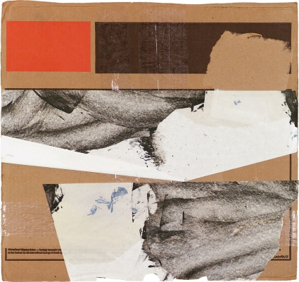 BART GULLEY Show: From Image to Object: Painting to Collage collage on cardboard